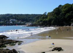 North Sands Beach, Salcombe, Devon