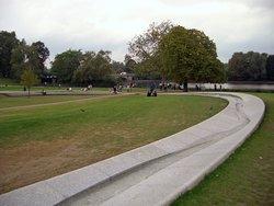 Princess Diana Memorial Fountain, Hyde Park.