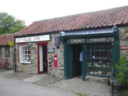 Ryedale Folk Museum shops, Hutton-le-Hole, North Yorkshire