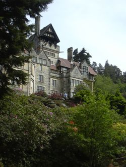 Cragside house in Rothbury, Northumberland