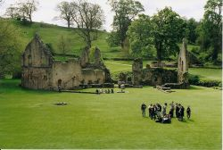School Outing at Fountains Abbey in Ripon, North Yorkshire