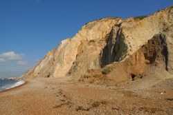 The Needles Park Beach & Cliff's, Freshwater, Isle of Wight