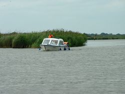 Somewhere on the Norfolk Broads in 2002