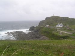 Cape Cornwall, a wild and windy headland in the far west of Cornwall