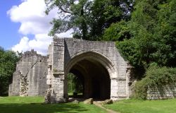 Roche Abbey in Maltby, South Yorkshire