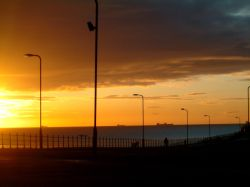 Early morning Hartlepool, County Durham