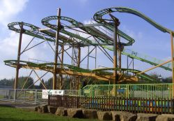 The Twister, Lightwater Valley Park, Ripon, North Yorkshire Wallpaper