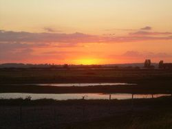 Sunset at Rye Harbour, East Sussex