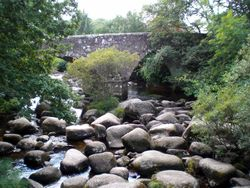 Dartmeet, Devon Wallpaper