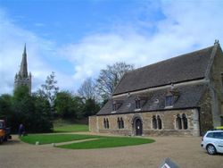 Oakham Castle and Church of England Church