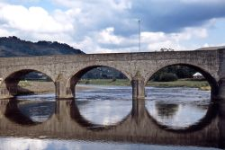 Bridge over River Wye at Builth Wells