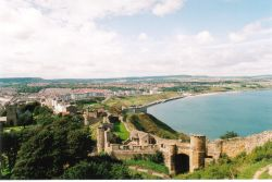Views across the Castle Walls over Scarborough