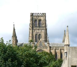 Durham Cathedral From The East