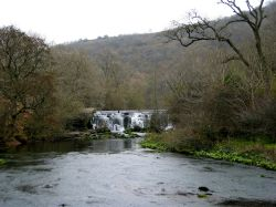 The Weir, River Wye, Monsal Dale, Derbyshire