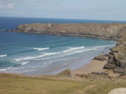 Bedruthan Steps, St Eval, Cornwall