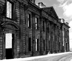 Sutton Scarsdale Hall Facade, Derbyshire