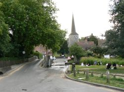 Eynsford Church &  Ford