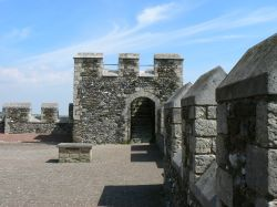 On Top of Dover Castle's Keep