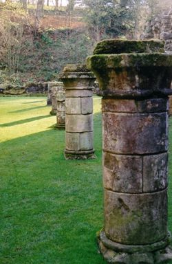 Ruins at Fountains Abbey, Ripon, North Yorkshire