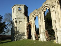 Basingstoke, Ruins of the Chapel of the Holy Ghost