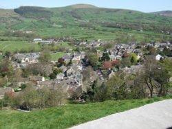 Castleton from Peveril Castle