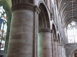 Interior Hereford Cathedral, Herefordshire