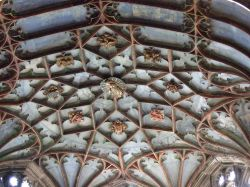 Ceiling bosses Hereford Cathedral, Herefordshire