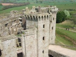 Raglan Castle, Usk, Monmouthshire