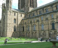 Durham Cathedral, North Side