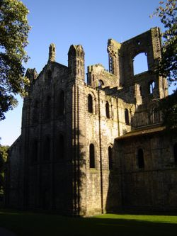 Kirkstall Abbey, West Yorkshire