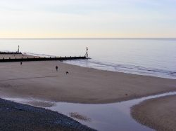 The Beach at Sheringham in Norfolk