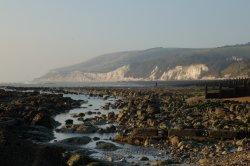 Eastbourne low tide mark