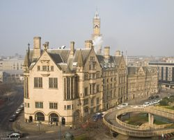 Bradford Town Hall, West Yorkshire