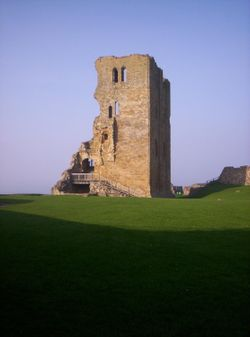 Main tower, Scarborough Castle, North Yorkshire