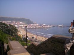 Scarborough front, North Yorkshire