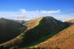 Looking down into Cardingmill Valley, Church Stretton, Shropshire