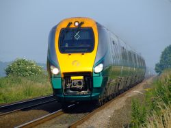 New passenger train, Kingston upon Hull, East Riding of Yorkshire