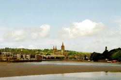 Truro Cathedral from Fall River.