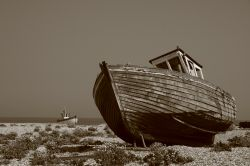Abandoned fishing industry Dungeness