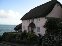 Pink Cottage, Cadgwith, Cornwall