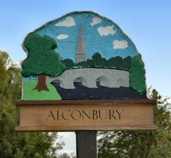 Alconbury village sign