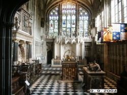 Church of St.Mary, Warwick. The Beauchamp Chapel.