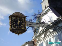 THE CLOCK Guildford High street