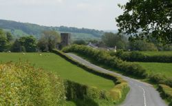 A view of Great Mitton, Lancashire.
