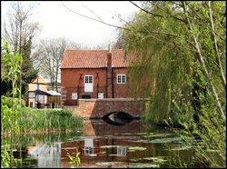 Cogglesford Mill, River Slea, Sleaford, Lincolnshire