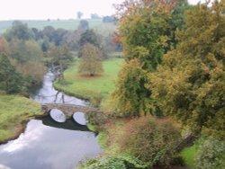 River Wye taken from Haddon Hall Wallpaper