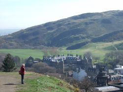 Palace of Holyroodhouse from Calton Hill