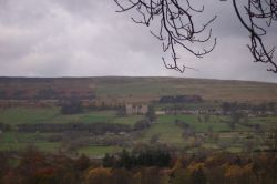 Castle Bolton from the A684