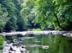 The river Kent