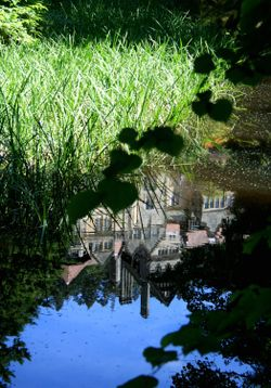 Reflecting Pool at Cragside Estate, nr Rotherbury, Northumberland.